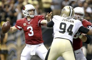Jordan Brenner expects Carson Palmer to continue his success against the Bears.